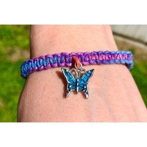 Handmade Jewelry - ✨🦋🌈🧚♀️Blue Butterfly Unicorn Fairy